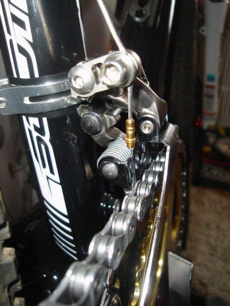 adapter umwerfer