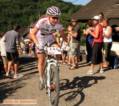 Jana Süß vom Stevens 1a Crossteam