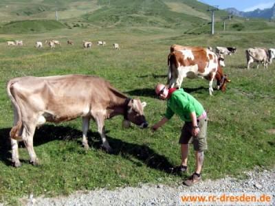 Beim Kontakt zu wildlebenden Tieren ist Vorsicht geboten! Bestes Beispiel: Kay.