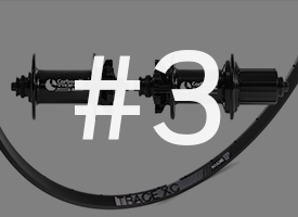 Carbon Ti X-Hub MTB SL + Ryde Trace XC