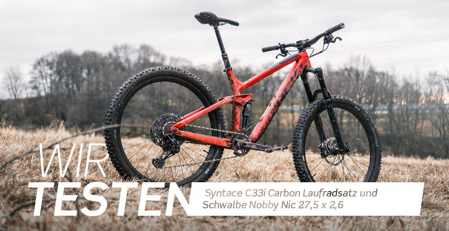 r2-bike testet Syntace und Schwalbe